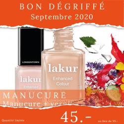 Manucure + vernis - Bon...