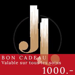 1000 CHF - Bon cadeau